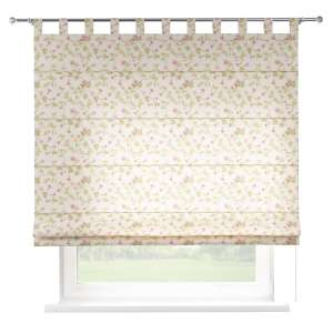Verona tab top roman blind 80 x 170 cm (31.5 x 67 inch) in collection Mirella, fabric: 140-41