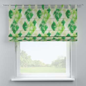Verona tab top roman blind 80 x 170 cm (31.5 x 67 inch) in collection Aquarelle, fabric: 140-70