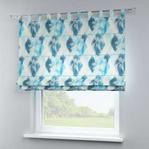 Verona tab top roman blind 80 x 170 cm (31.5 x 67 inch) in collection Aquarelle, fabric: 140-71