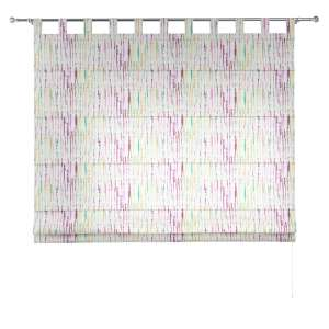 Verona tab top roman blind 80 x 170 cm (31.5 x 67 inch) in collection Aquarelle, fabric: 140-72