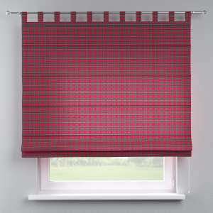 Verona tab top roman blind 80 x 170 cm (31.5 x 67 inch) in collection Bristol, fabric: 126-29