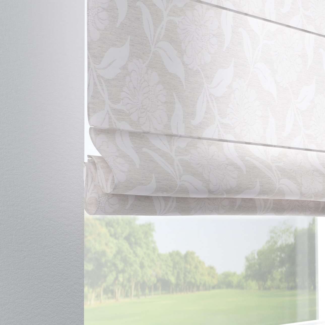 Foldegardin Verona<br/>Med stropper til gardinstang 80 x 170 cm fra kollektionen Venice , Stof: 140-51