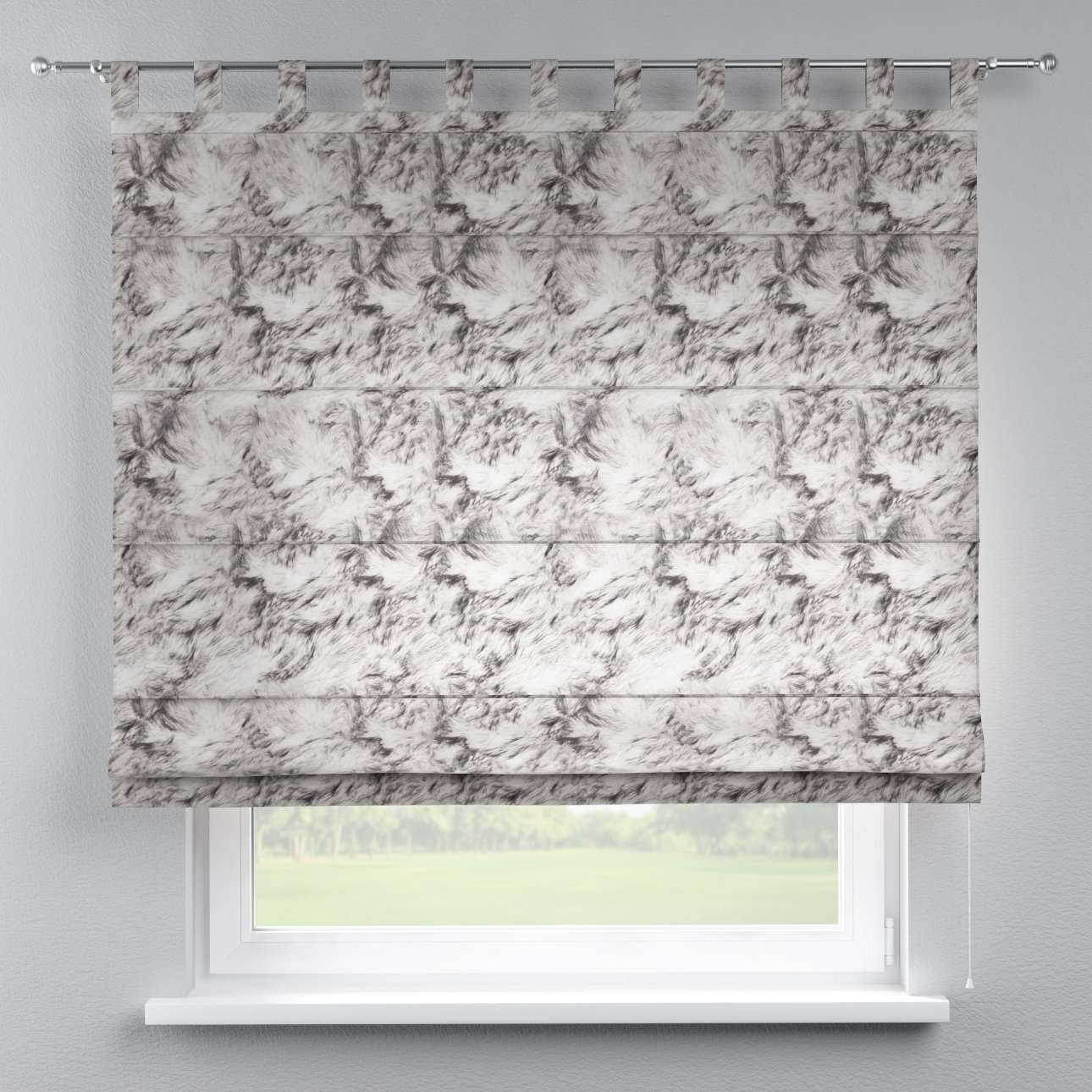 Verona tab top roman blind in collection Freestyle, fabric: 140-82