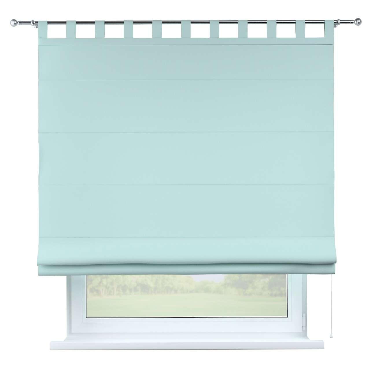 Raffrollo Verona, hellblau, 130 × 170 cm, Cotton Panama | Heimtextilien > Jalousien und Rollos > Raffrollos | Dekoria