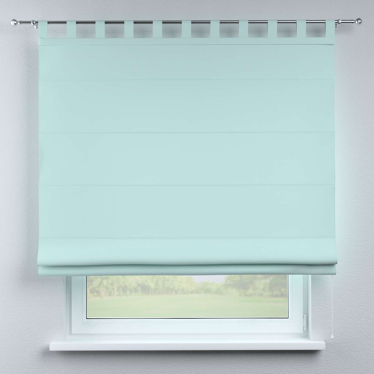 Foldegardin Verona<br/>Med stropper til gardinstang 80 x 170 cm fra kollektionen Cotton Panama, Stof: 702-10