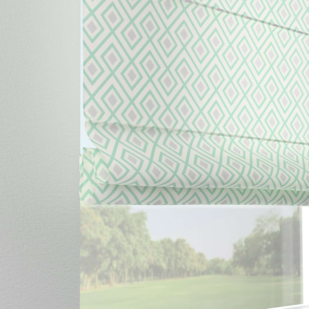 Verona tab top roman blind in collection SALE, fabric: 141-45