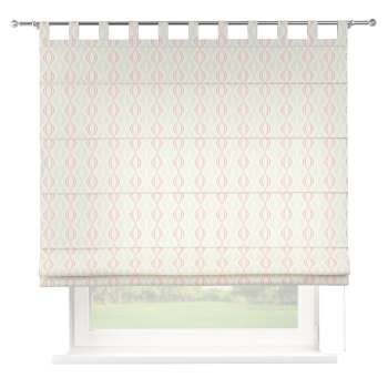 Verona tab top roman blind 80 × 170 cm (31.5 × 67 inch) in collection Geometric, fabric: 141-49