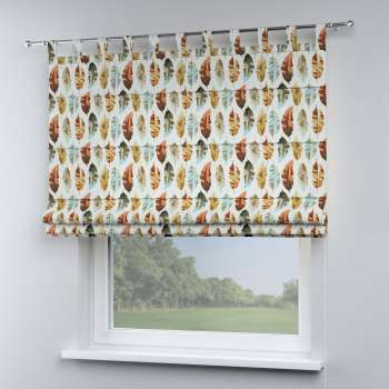 Verona tab top roman blind 80 x 170 cm (31.5 x 67 inch) in collection Urban Jungle, fabric: 141-43