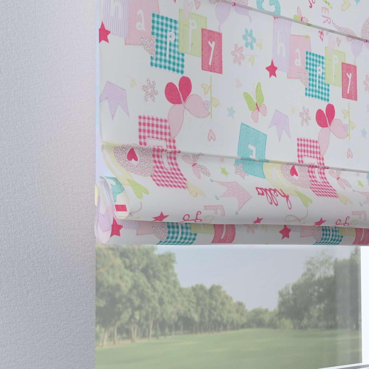 Foldegardin Verona<br/>Med stropper til gardinstang 80 x 170 cm fra kollektionen Little World, Stof: 141-51