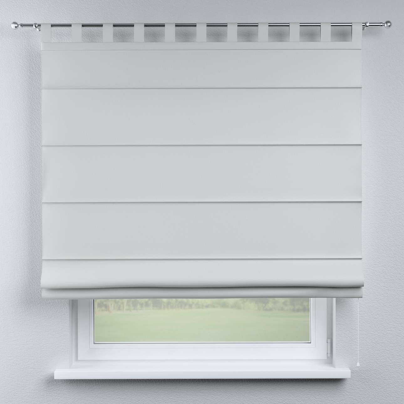 Verona tab top roman blind in collection Damasco, fabric: 141-77