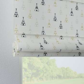 Verona tab top roman blind 80 × 170 cm (31.5 × 67 inch) in collection Adventure, fabric: 141-84
