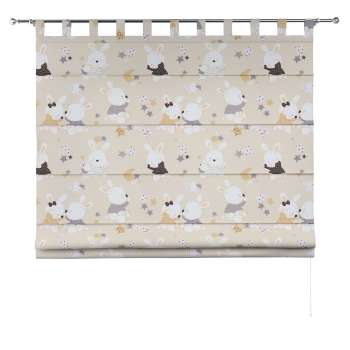 Verona tab top roman blind 80 × 170 cm (31.5 × 67 inch) in collection Adventure, fabric: 141-85