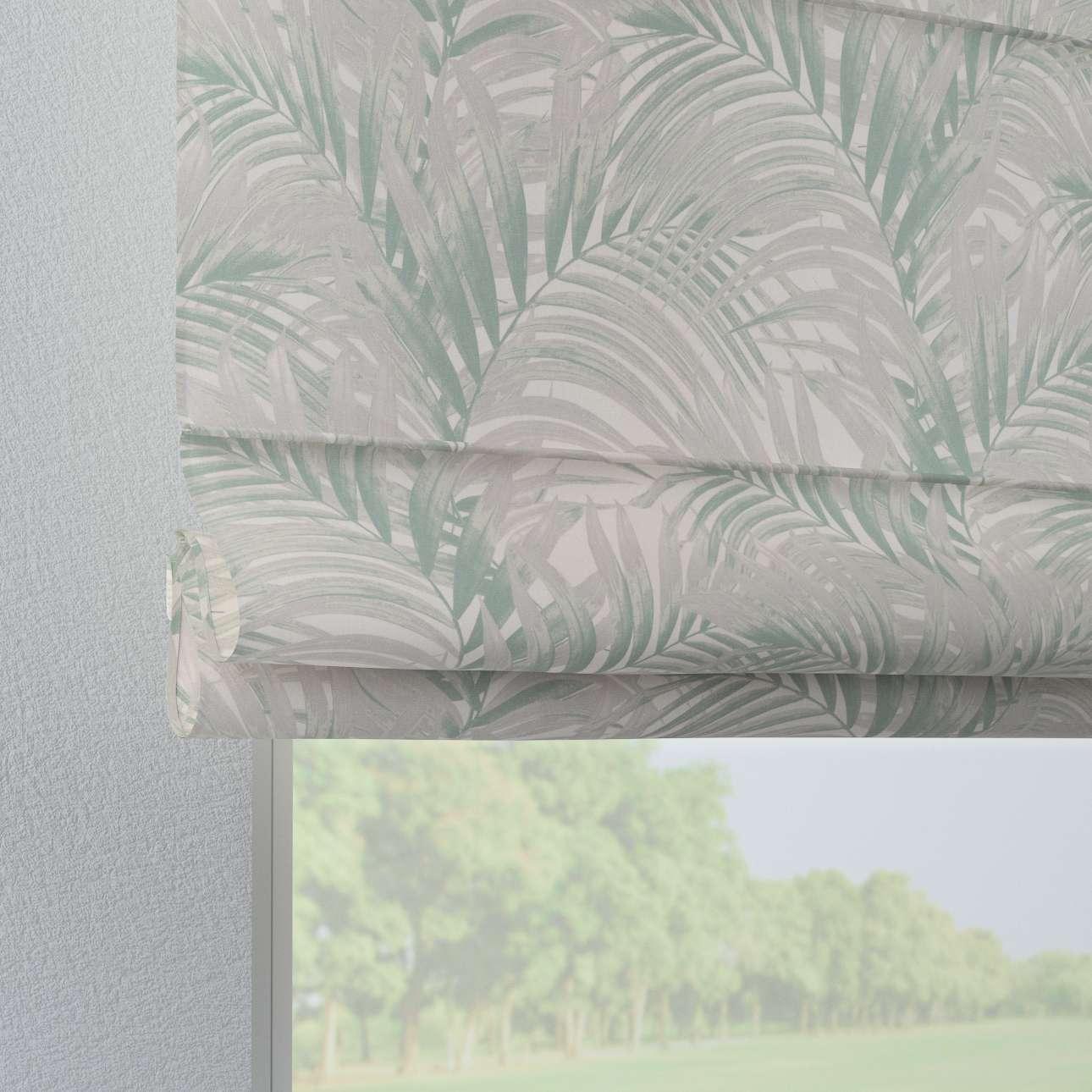 Verona tab top roman blind in collection Gardenia, fabric: 142-15