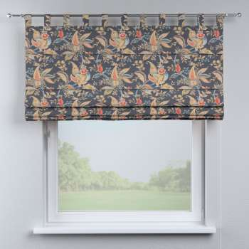 Foldegardin Verona<br/>Med stropper til gardinstang fra kollektionen Gardenia, Stof: 142-19