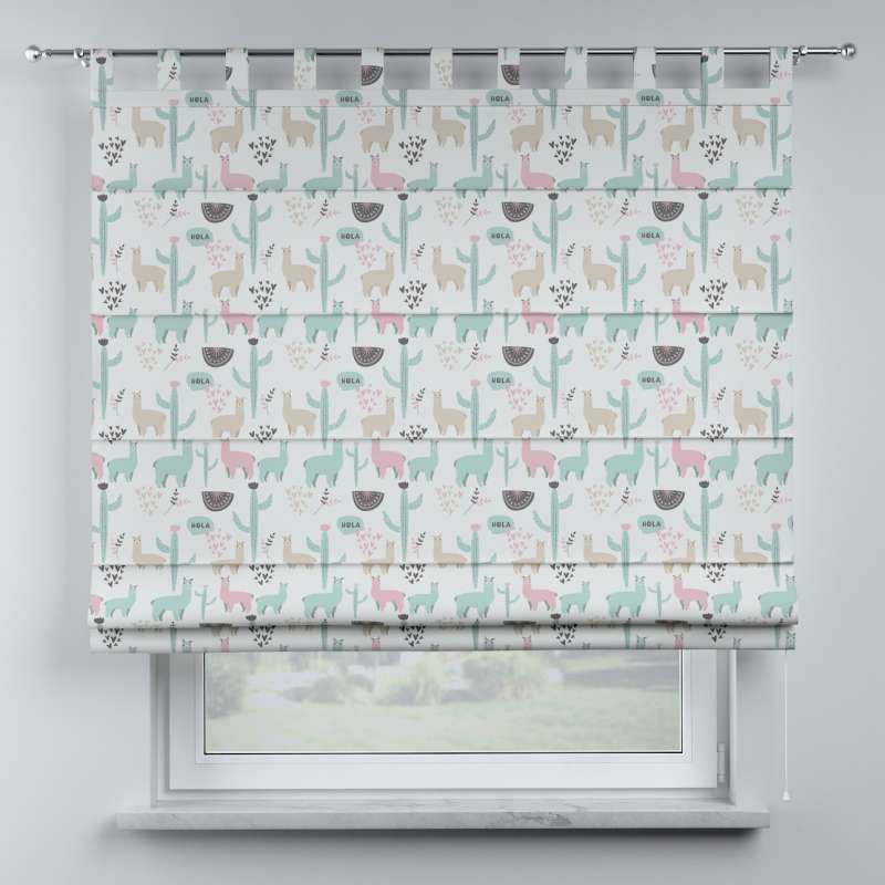 Oli tab top roman blind in collection Magic Collection, fabric: 500-01
