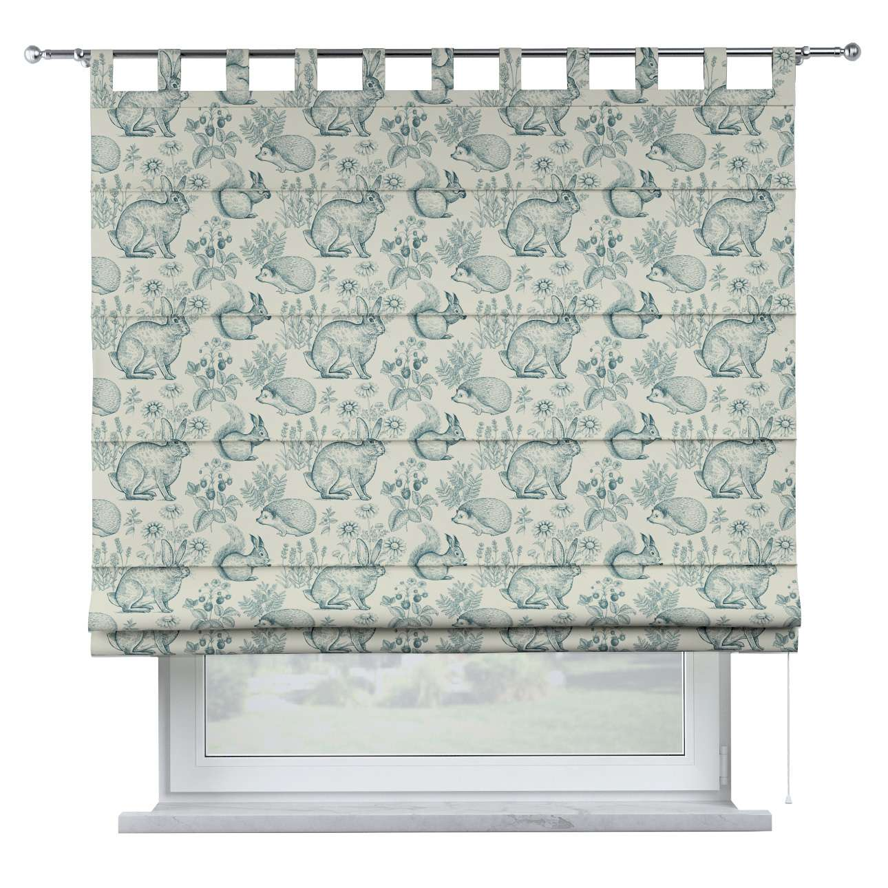 Oli tab top roman blind in collection Magic Collection, fabric: 500-04