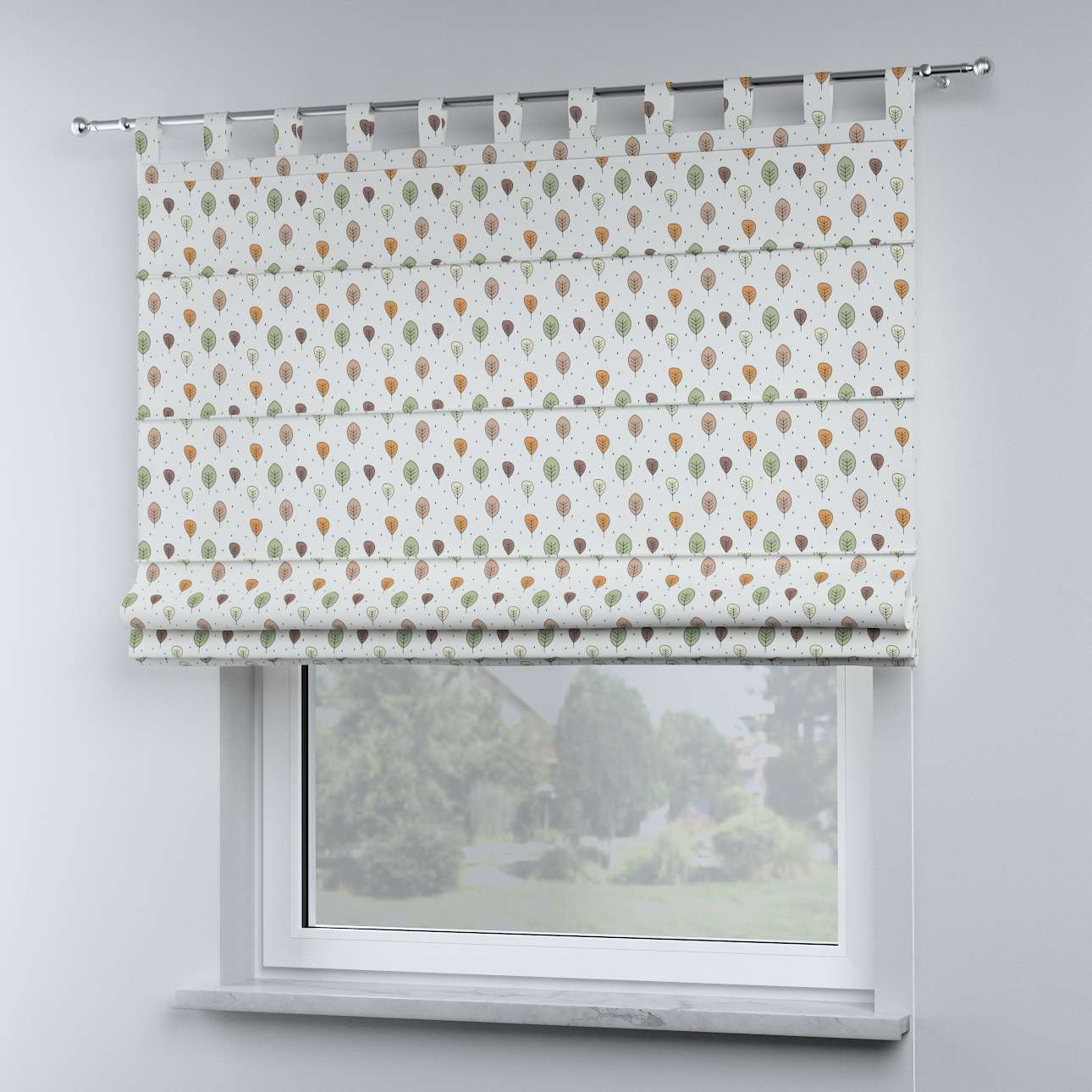 Oli tab top roman blind in collection Magic Collection, fabric: 500-09