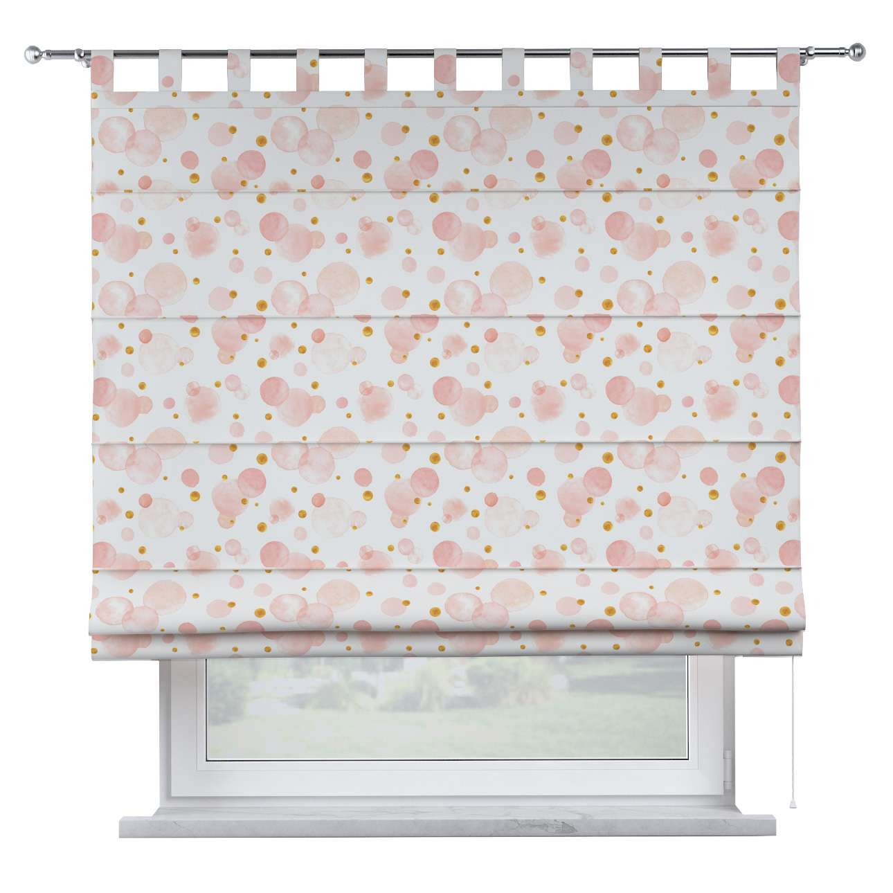 Oli tab top roman blind in collection Magic Collection, fabric: 500-13