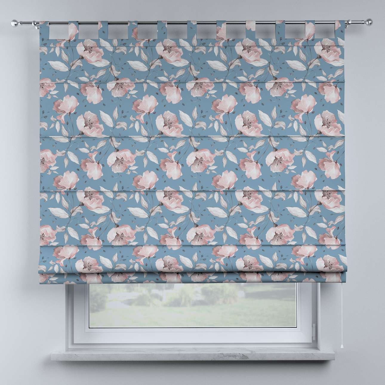 Oli tab top roman blind in collection Magic Collection, fabric: 500-18