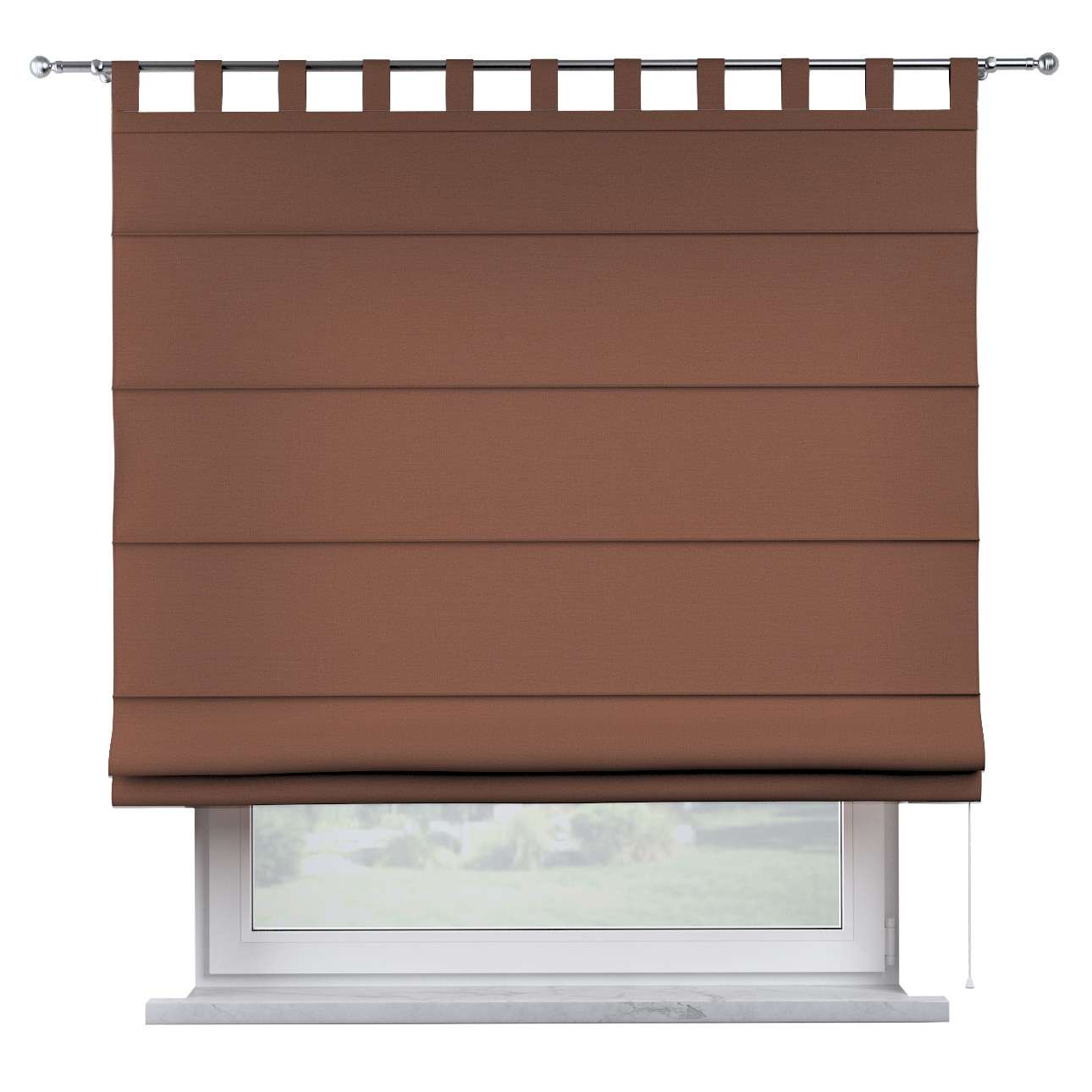 Oli tab top roman blind in collection Happiness, fabric: 133-09