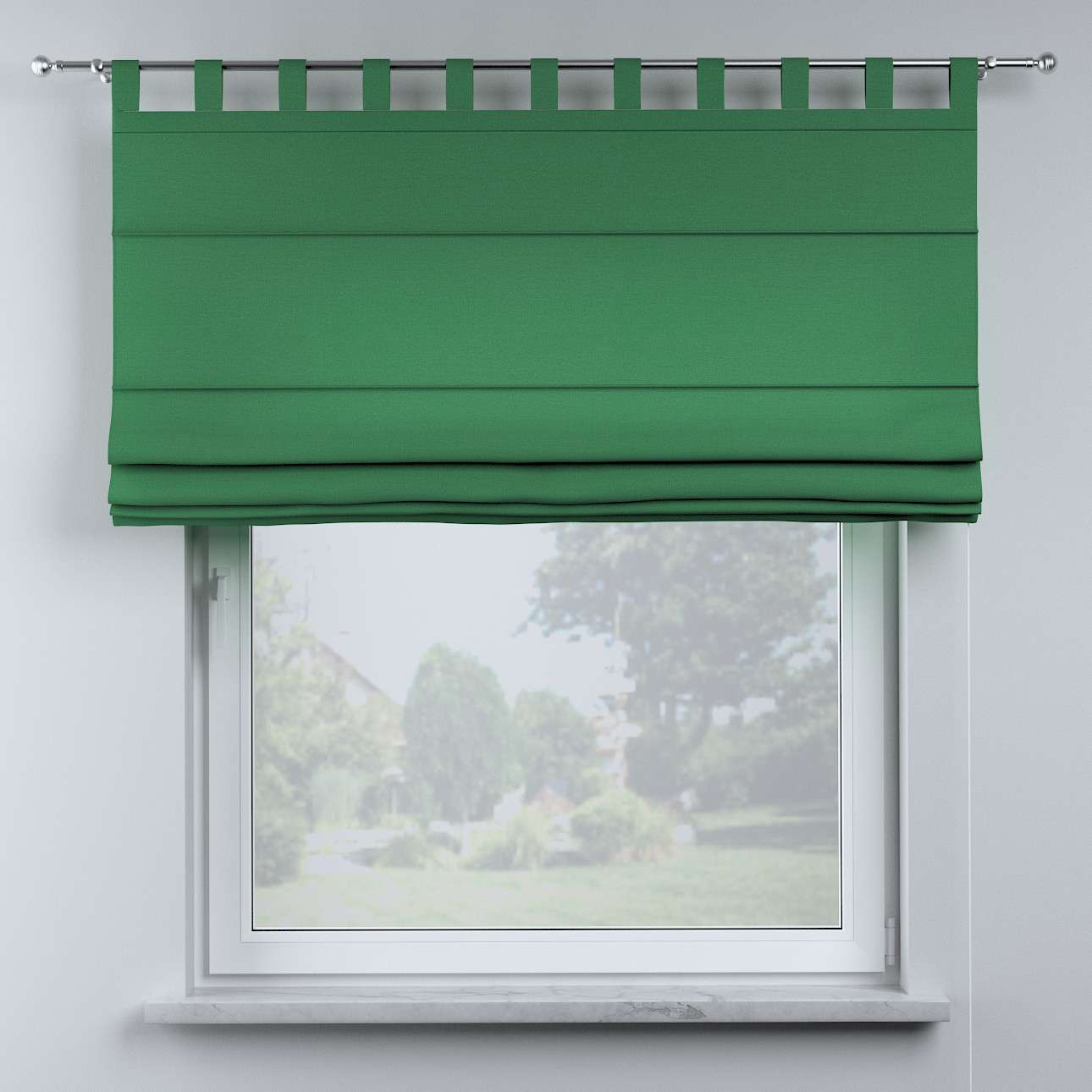 Oli tab top roman blind in collection Happiness, fabric: 133-18