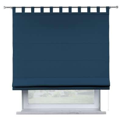 Oli tab top roman blind 702-30 dark blue Collection Cotton Story