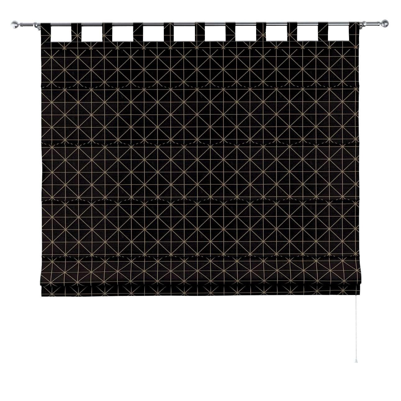 Liftgardin Verona<br/>Med stropper til gardinstang fra kolleksjonen Black & White, Stoffets bredde: 142-55