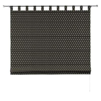Liftgardin Verona<br/>Med stropper til gardinstang fra kolleksjonen Black & White, Stoffets bredde: 142-56