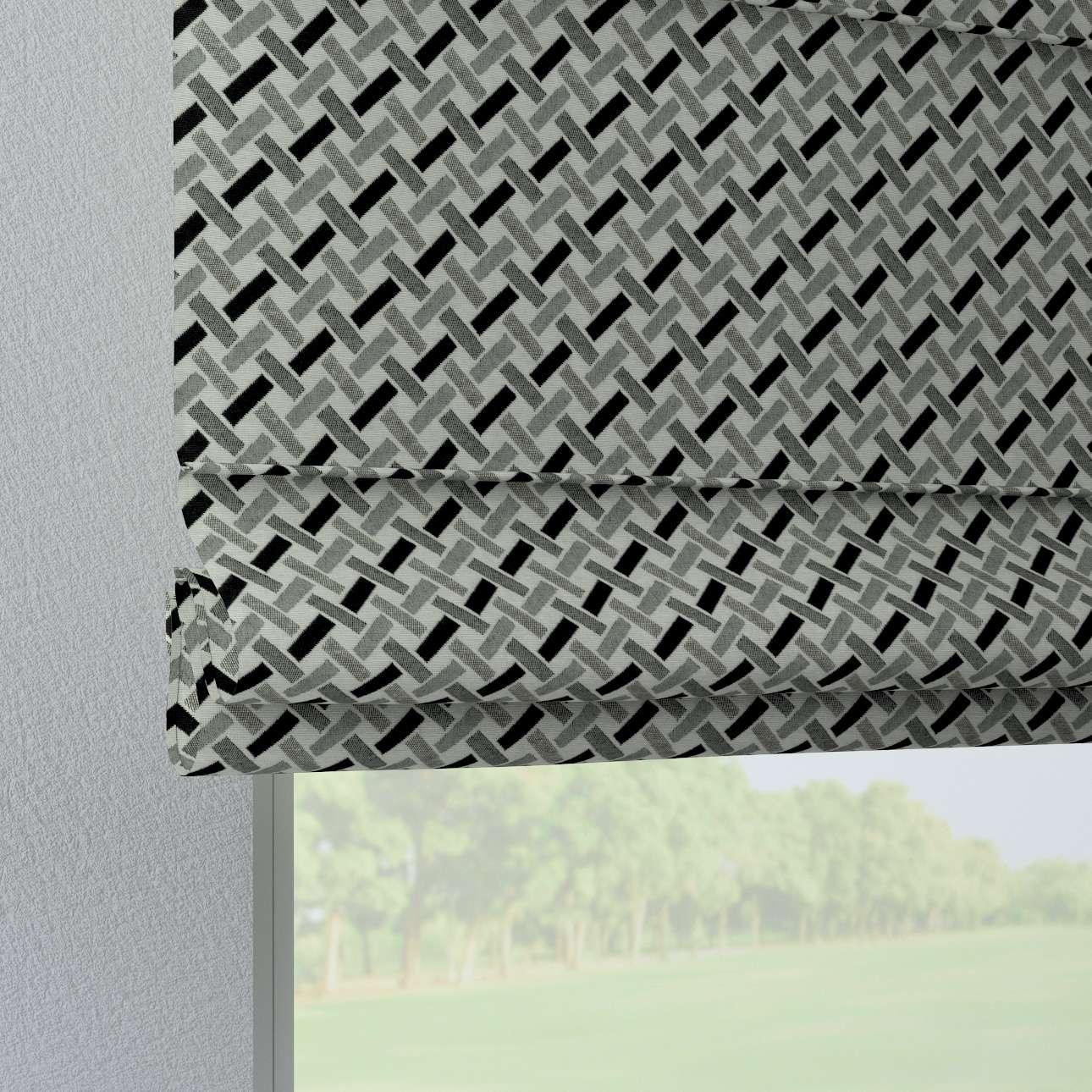 Liftgardin Verona<br/>Med stropper til gardinstang fra kolleksjonen Black & White, Stoffets bredde: 142-78