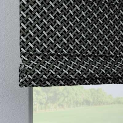 Foldegardin Verona<br/>Med stropper til gardinstang fra kollektionen Black & White, Stof: 142-87