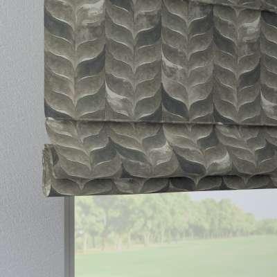 Liftgardin Verona<br/>Med stropper til gardinstang 143-12 Naturhvit med print Kolleksjon Abigail