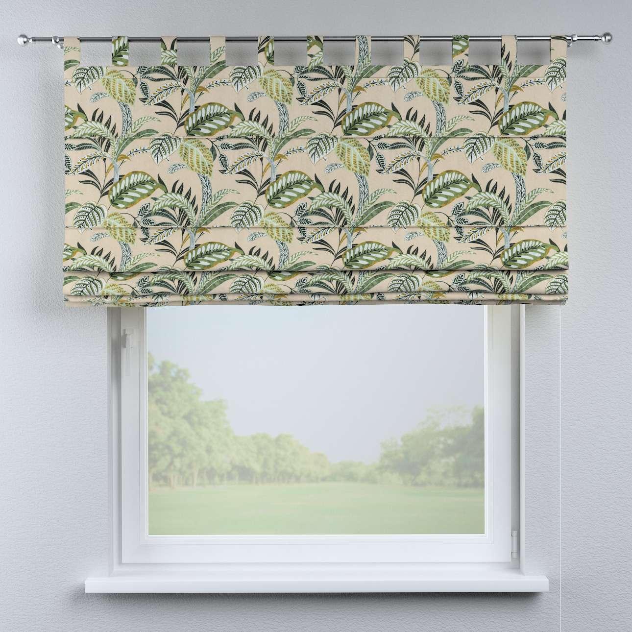 Vouwgordijn Verona van de collectie Tropical Island, Stof: 142-96