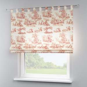 Verona tab top roman blind 80 x 170 cm (31.5 x 67 inch) in collection Avinon, fabric: 132-15