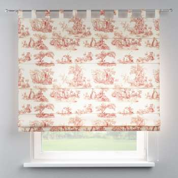 Verona tab top roman blind 80 x 170 cm (31.5 x 67 inch) in collection Avinon, fabric: 132-15