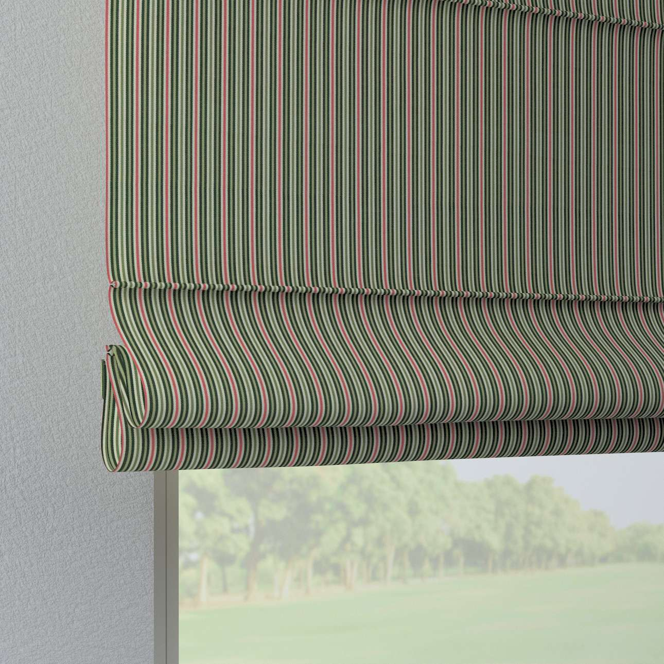 Foldegardin Verona<br/>Med stropper til gardinstang fra kollektionen Londres, Stof: 143-42