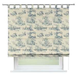 Verona tab top roman blind 80 x 170 cm (31.5 x 67 inch) in collection Avinon, fabric: 132-66