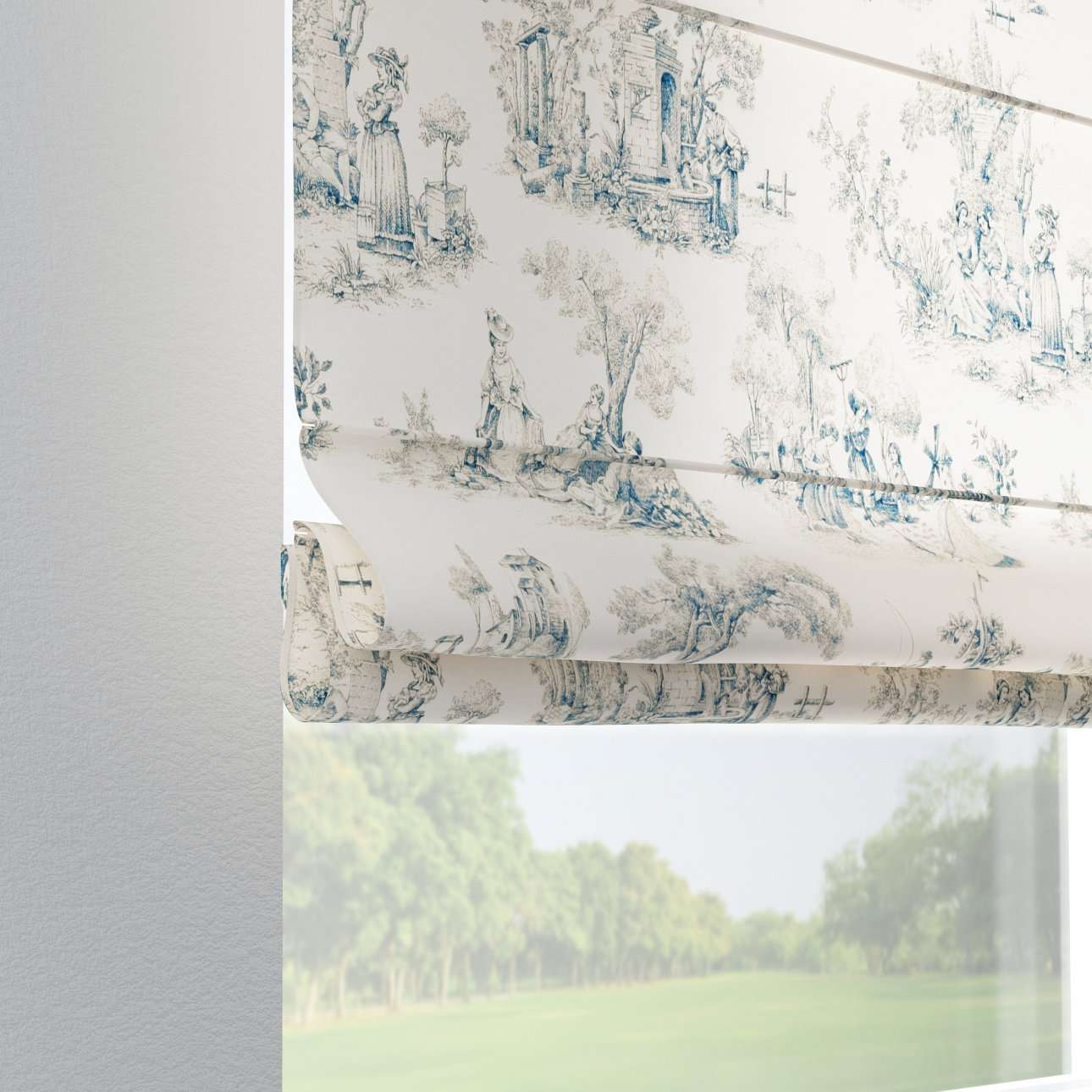 Liftgardin Verona<br/>Med stropper til gardinstang 80 × 170 cm fra kolleksjonen Avinon, Stoffets bredde: 132-66