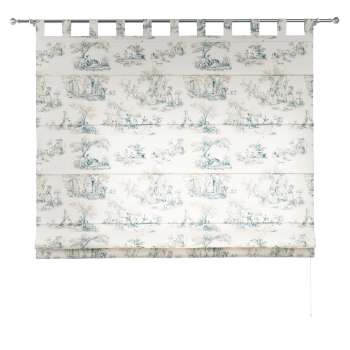 Verona tab top roman blind 80 x 170 cm (31.5 x 67 inch) in collection Avinon, fabric: 132-66