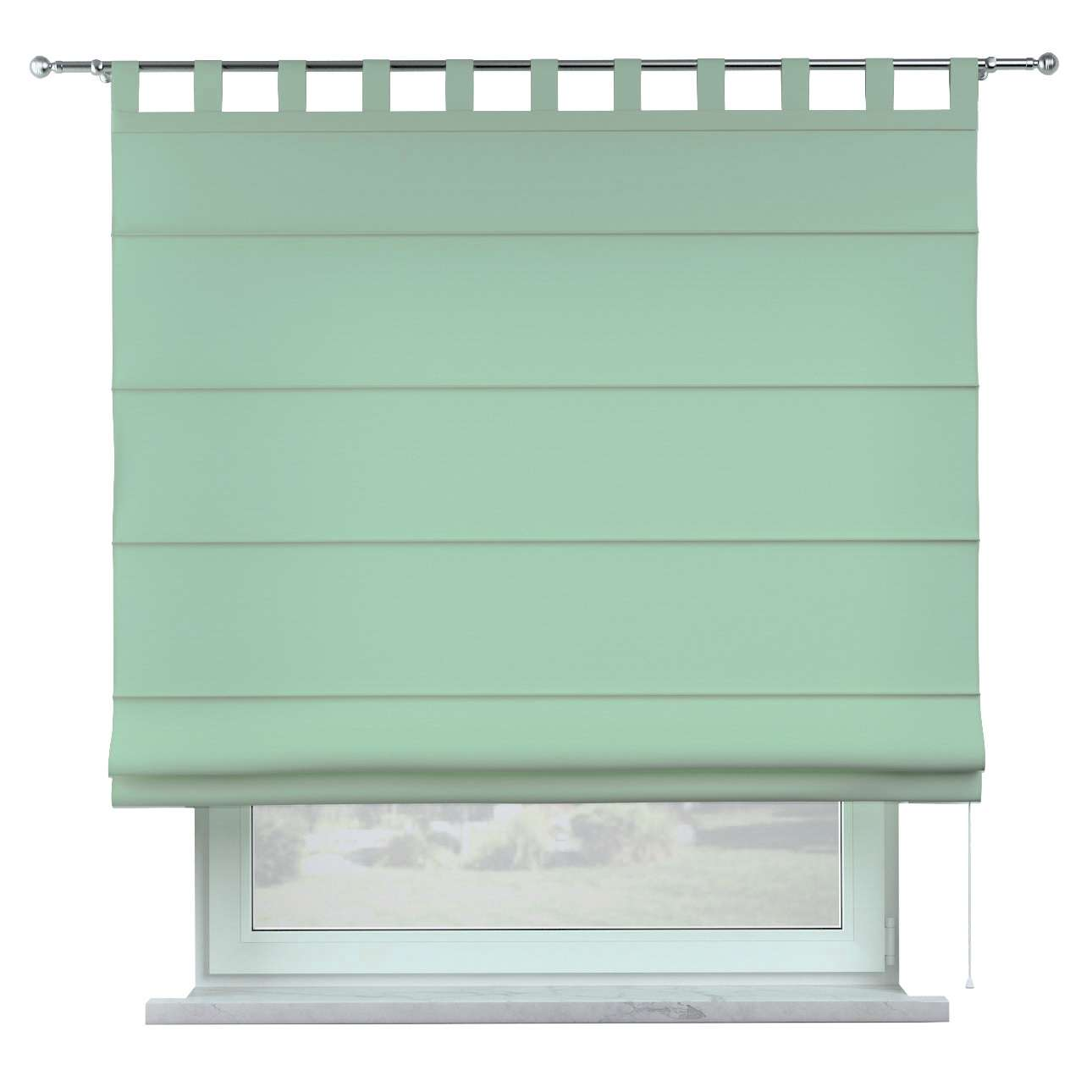 Oli tab top roman blind in collection Happiness, fabric: 133-61