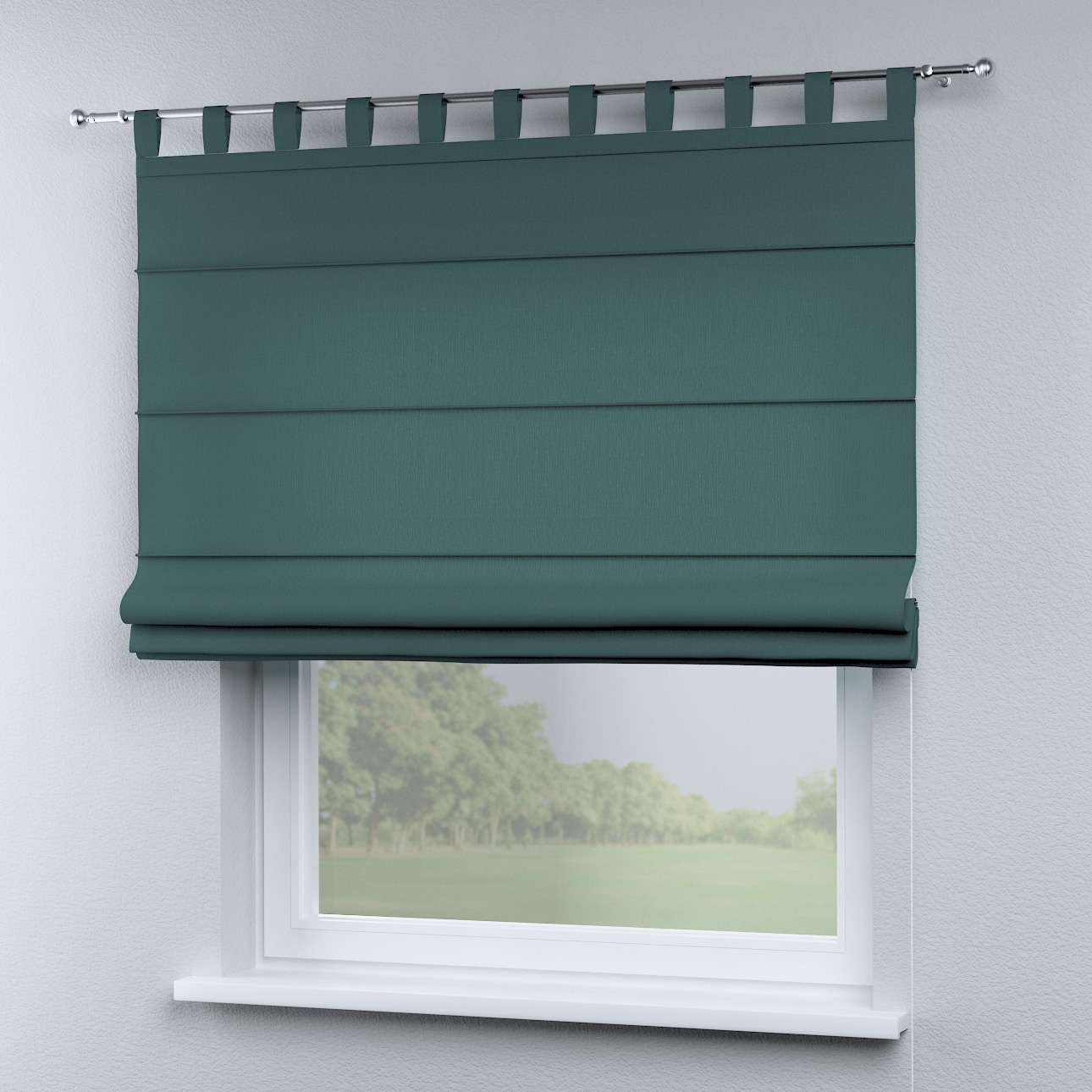 Oli tab top roman blind in collection Nature, fabric: 159-09