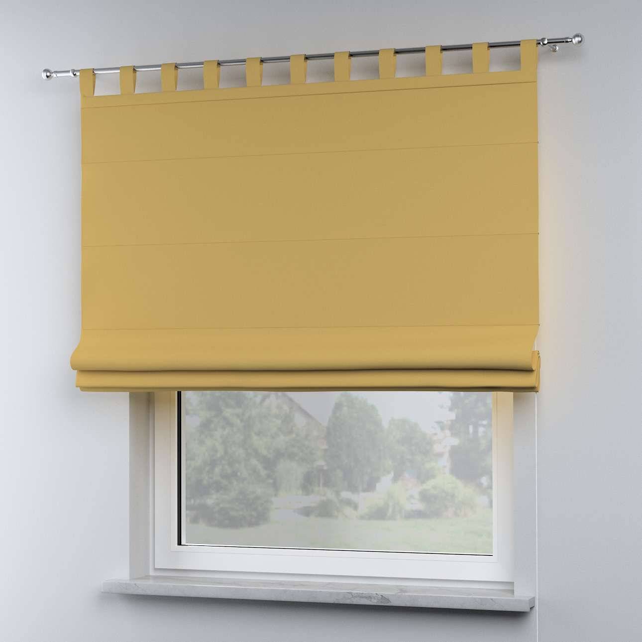 Oli tab top roman blind in collection Cotton Story, fabric: 702-41