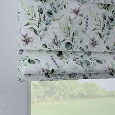 Liftgardin Verona<br/>Med stropper til gardinstang 143-66 Naturhvit med pint Magnolie Kolleksjon Flowers