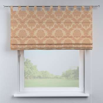 Verona tab top roman blind 130 x 170 cm (51x 67 inch) in collection Damasco, fabric: 613-04