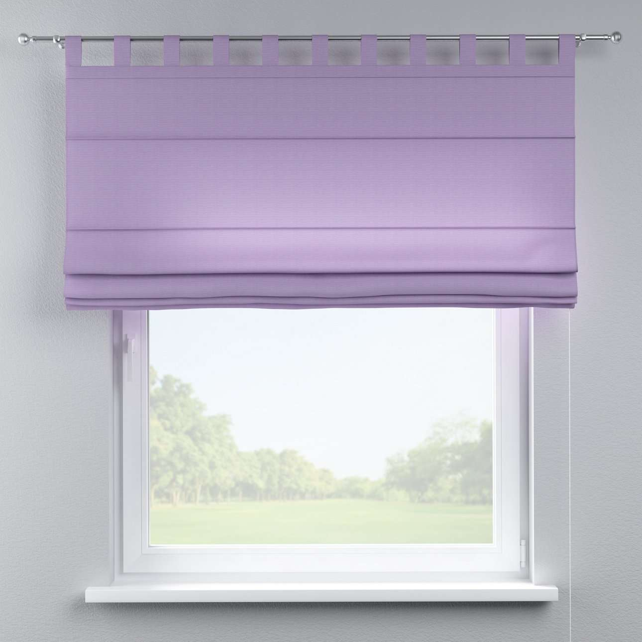 Verona tab top roman blind in collection Jupiter, fabric: 127-74