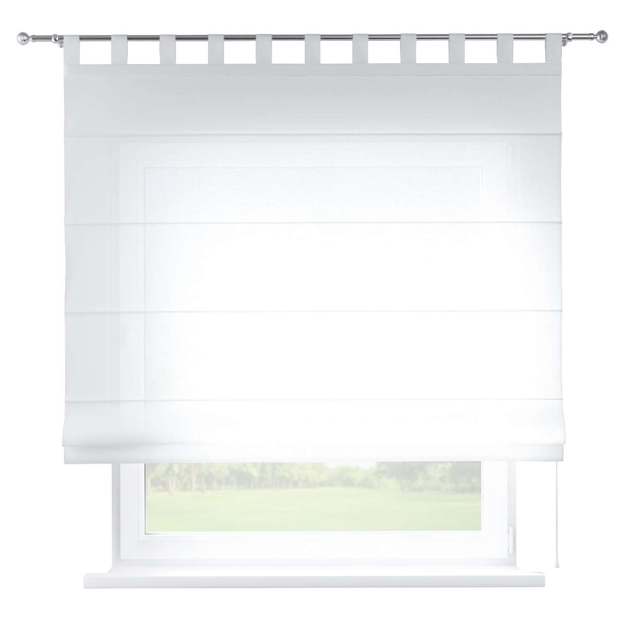 Verona tab top roman blind in collection Romantica, fabric: 128-77
