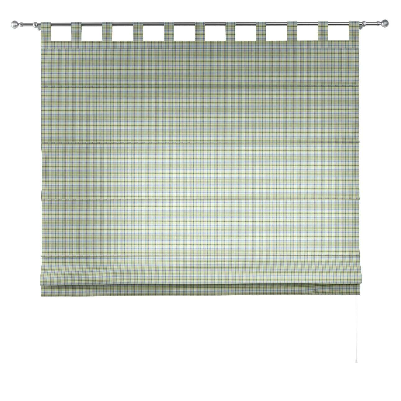 Verona tab top roman blind 80 x 170 cm (31.5 x 67 inch) in collection Bristol, fabric: 126-69