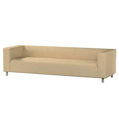 Pokrowiec na sofę Klippan 4-osobową w kolekcji Cotton Panama, tkanina: 702-01