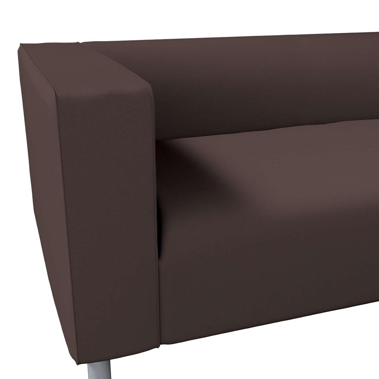 Pokrowiec na sofę Klippan 4-osobową w kolekcji Cotton Panama, tkanina: 702-03
