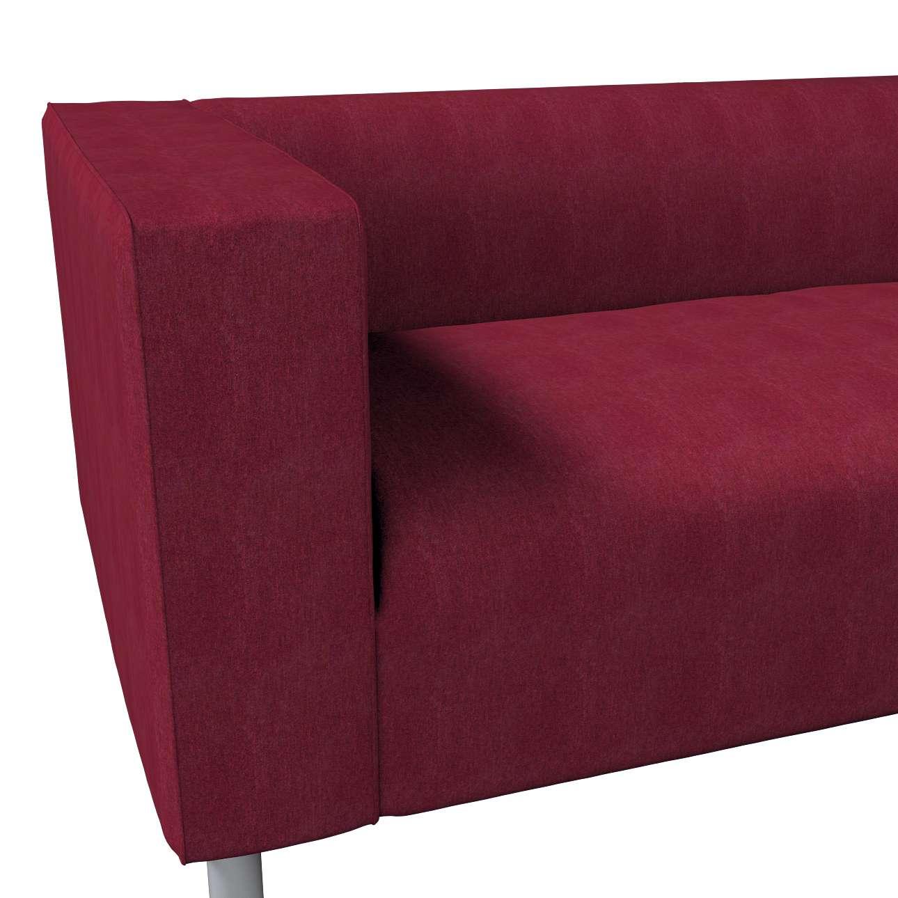 Pokrowiec na sofę Klippan 4-osobową w kolekcji Chenille, tkanina: 702-19