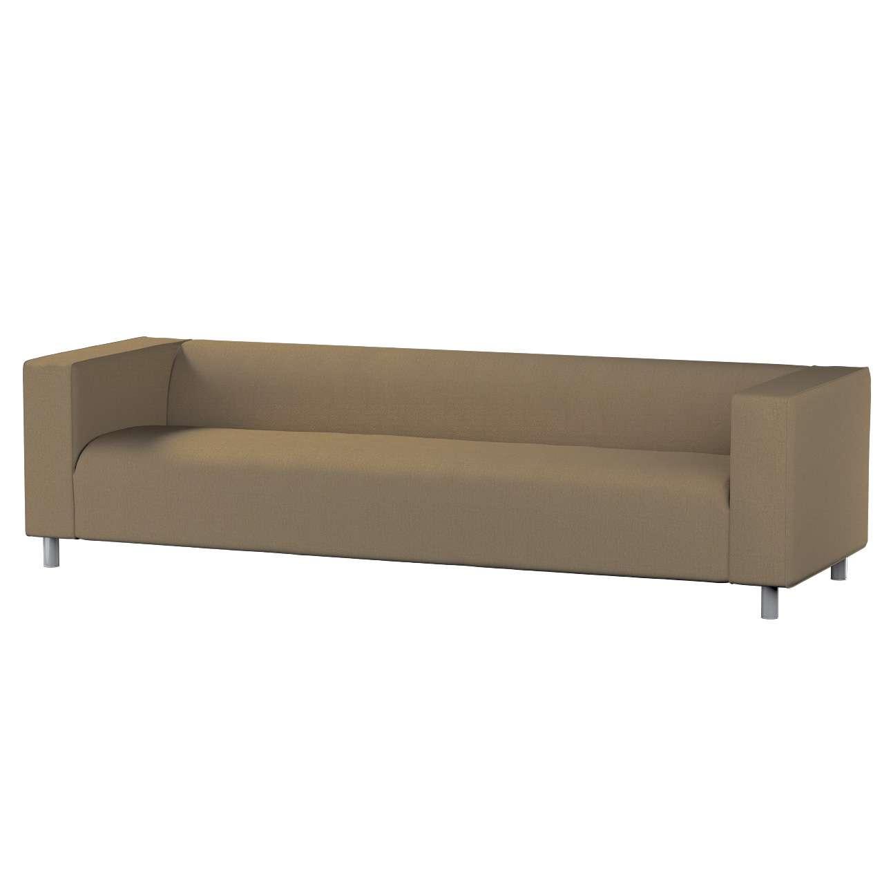 Pokrowiec na sofę Klippan 4-osobową w kolekcji Chenille, tkanina: 702-21